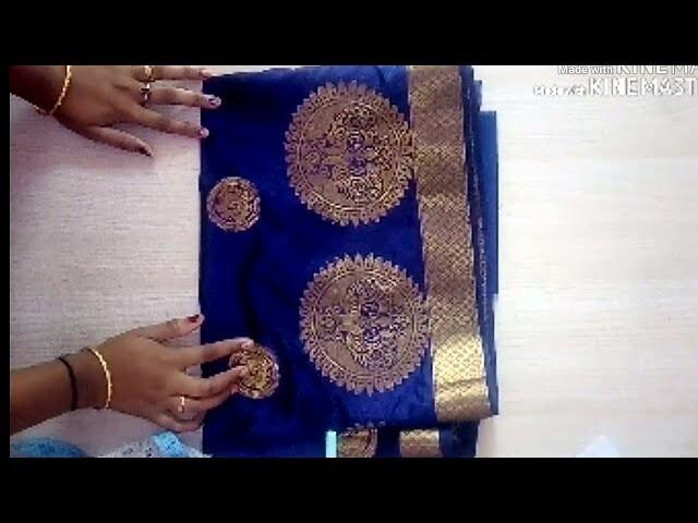 bba5869af16c3 Very easy   beautiful paithani blouse back neck design cutting   stitching