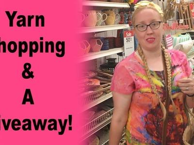 Yarn Shopping & A Giveaway!!