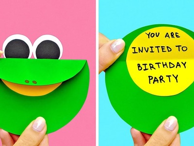 14 COOLEST DIY PAPER CARDS