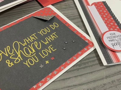 2 EASY Any Occassion DIY cards no stamps or die cuts!