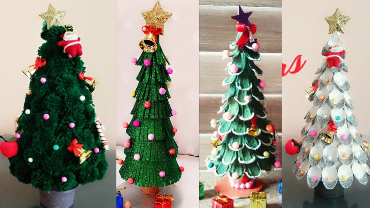 christmas crafts for toddlers 4 easy diy christmas tree ideas christmas tree 10563