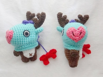 Christmas MANG BT21 Crochet Tutorial