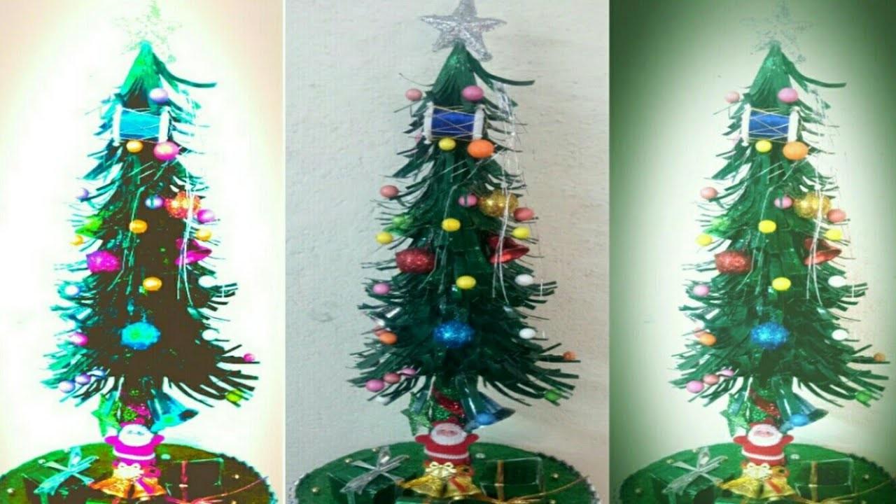 Christmas Tree Making At Home Xmas Tree Banane Ka Easy Tarika Diy