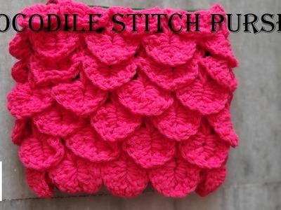 Crochet: Crocodile Stitch | crochet tamil | in tamil