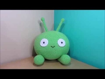 Crochet Mooncake final space amigurumi