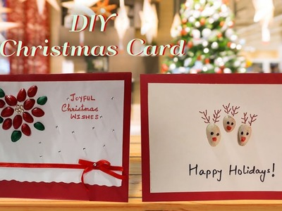 DIY Christmas Card Making Idea.Pistachio Shell Card Making Ideas.Handmade Greeting Card