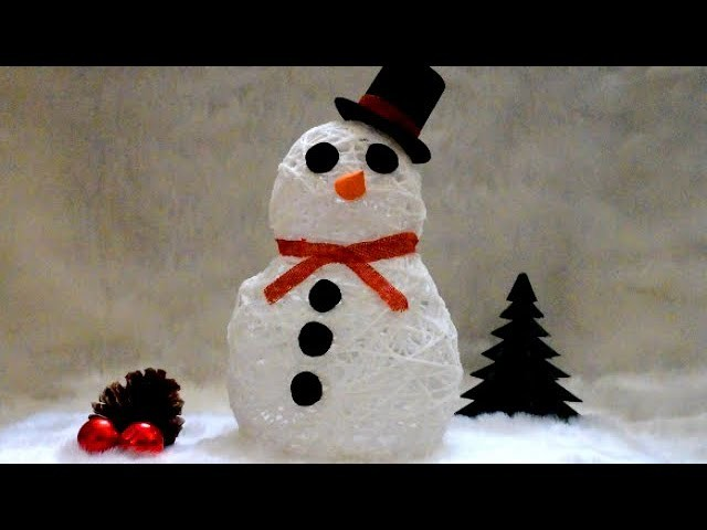 diy home decorating crafts diy christmas home decor twine snowman how to make a 10766