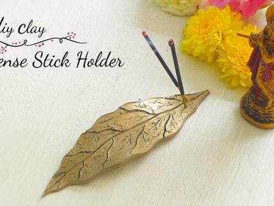 DIY Clay Incense stick holder | How to make Incense Stick Holder