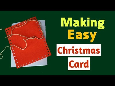DIY Easy Christmas Card Tutorial |