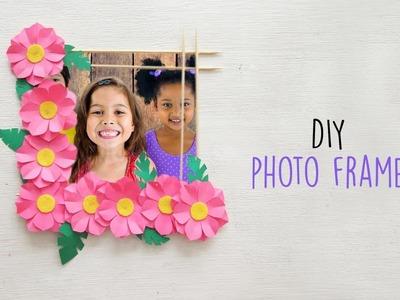 DIY Flower Photo Frame   Home Decoration Ideas   Ventuno Art