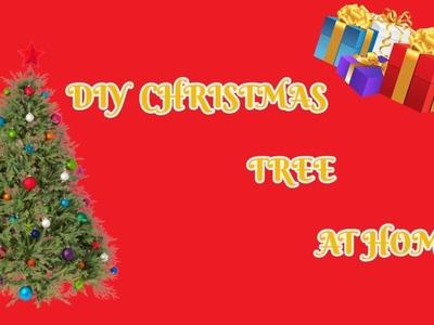 DIY MINI CHRISTMAS TREE AT HOME!! 5 Miniature Crafts