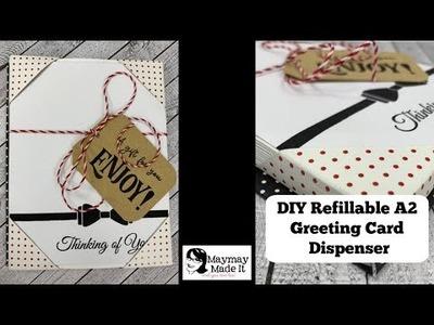 DIY Refillable A2 Card Dispenser