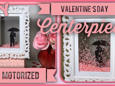 DIY Valentine's Day Motorized Globe - Romantic 3D Animated Centerpiece - Dollar Tree Valentine Decor