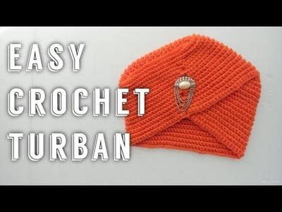 Easy Crochet Turban | Tutorial DIY