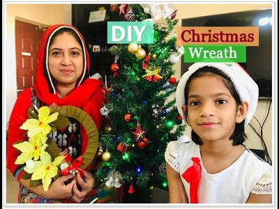 Easy DIY Christmas Wreath Ornament Tutorial |Malayalam