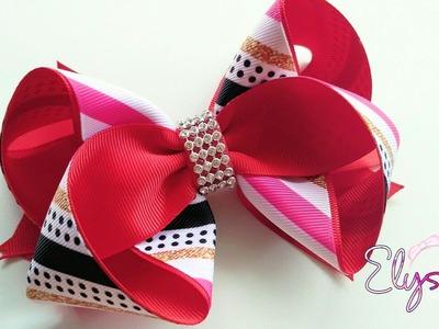 Exotico Ribbon Bow ???? Tutorial ???? DIY by Elysia Handmade