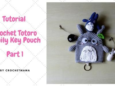 How to Crochet Totoro Family Key Cover (Part1)