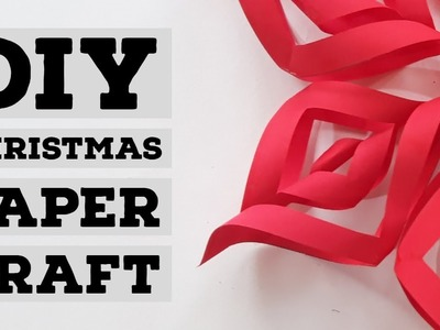 HOW TO MAKE PAPER CHRISTMAS DECORATIONS  FABULOUS DIY CHRISTMAS CRAFTS