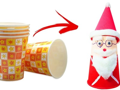 How to make santa claus | DIY santa | Crafts Junction