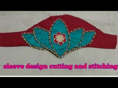 Lotus Sleeve Design Cutting And Stitching In Hindi  DIY 