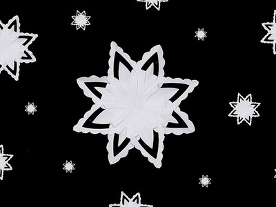 Paper star for Christmas ❄ DIY star with paper ❄ Easy Christmas decoration