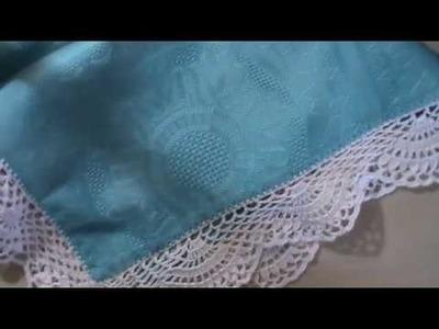 Puntilla crochet para mantelerias