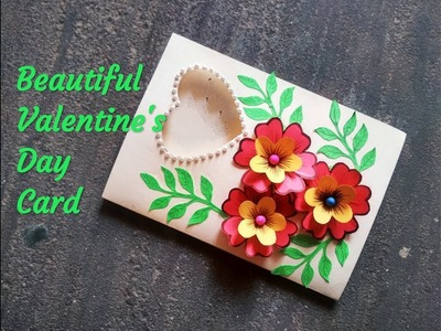 Valentine's Day greeting card | How to make greeting card for valentine's Day | DIY Love Card