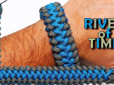 World of Paracord How to make Paracord Bracelet River of Time DIY Paracord Tutorial