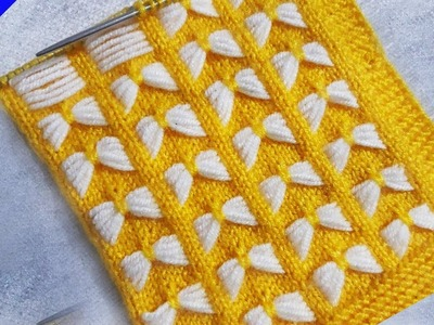 Butterfly knitting or cardigan Design for Baby Sweater - Nisixom