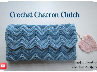 Crochet Chevron Clutch | Body | Part 1