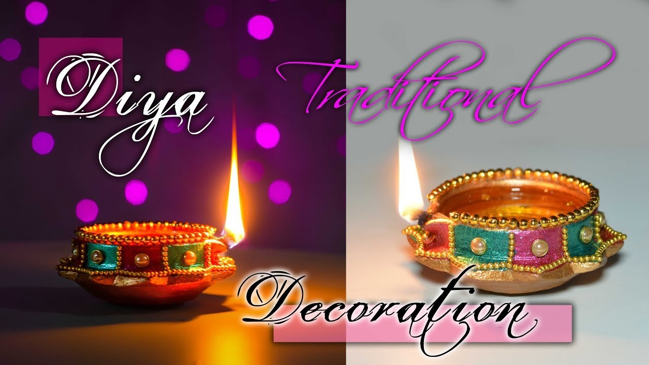 Diwali Special How To Decorate Traditional Diya At Home