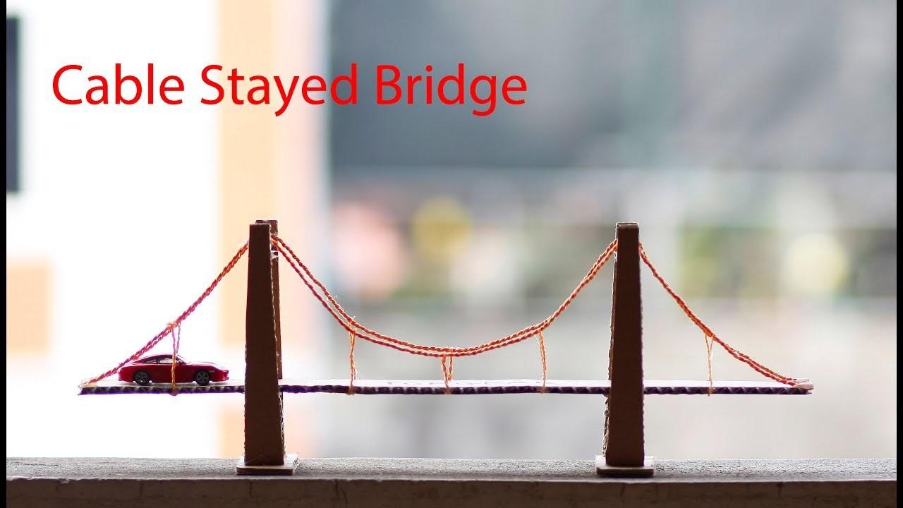 how to build a cardboard bridge