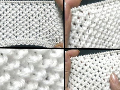 Easy 1 Row 3D Knitting Pattern for Cardigans, Sweaters, Baby Set, Frocks, Scarves, Hindi.English