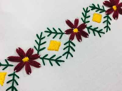 Hand Hand Embroidery Simple Hand Embroidery Easy Hand Embroidery