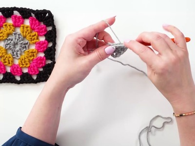 How to Crochet a Granny Square | Bluprint | Michaels
