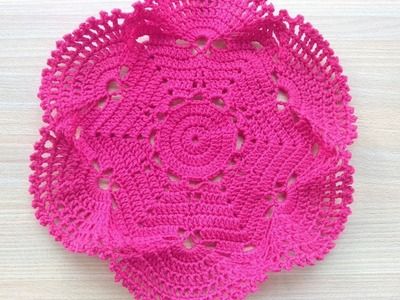 How to Crochet a Table Runner (5)