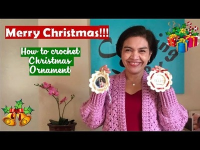 How to crochet Christmas ORNAMENT