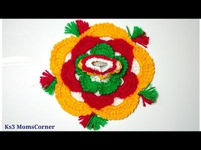 How to Crochet Dress for Laddu Gopal. Kanhaji (all size) | New style crochet dress for Bal Gopal