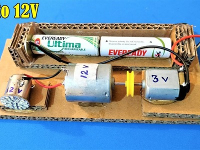 How to generate 12V power from 3V Battery