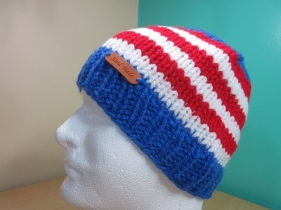 How to knit a hat my country version 1
