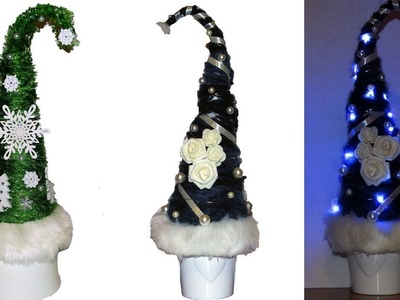 How to make a Grinch Christmas tree.Whoville Christmas Trees