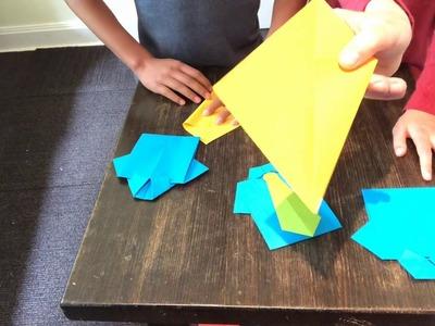 Origami Money folding: Shirt and Tie!   300x400