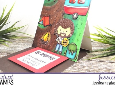 How To Make An Easel Card | Kindred Stamps & Beth Duff Designs Collab