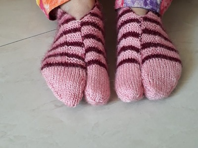 How to make woolan socks