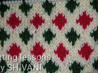 Multi colour || Knitting Pattern || Baby sweater design || easy to make | Design by Knitting lessons