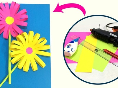 Origami Paper Flower | How To Make A Paper Flower | Easy Paper Crafts Ideas | Do Craft