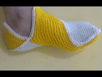 Socks bunai (design) in hindi || ladies socks knitting in hindi & How to make Ladies Socks.