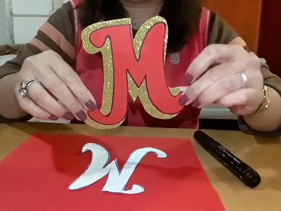 2 minutes craft, how to make Merry Xmas banner