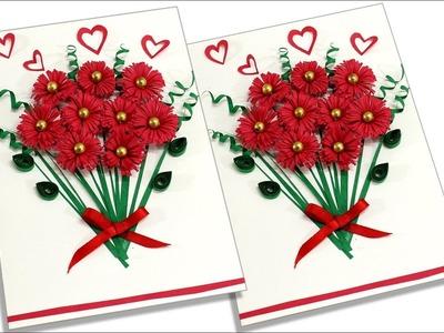 Beautiful Birthday Greeting Card | Handmade Greeting Card | How to Make Customized Greeting Card