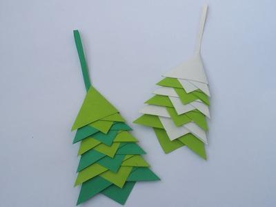 DIY : Christmas Tree!!! How to Make Beautiful Paper Christmas Tree for Christmas Decorations!!!